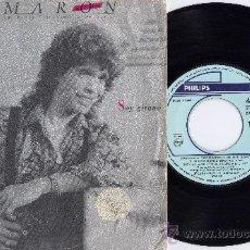 Discos de vinilo: CAMARON. 45 RPM. SOY GITANO+THAMAR Y AMNON. PHILIPS AÑO 1989. Lote 26949052
