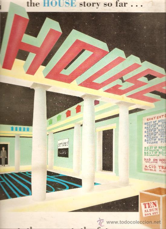 HOUSE - TEN ALBUM BOX SET - CAJA CON 10 VINILOS - ELECTRONICA & DEEP HOUSE & ACID HOUSE & TECHNO (Música - Discos - LP Vinilo - Techno, Trance y House)