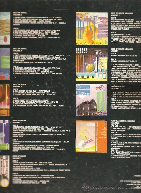 Discos de vinilo: HOUSE - TEN ALBUM BOX SET - CAJA CON 10 VINILOS - ELECTRONICA & DEEP HOUSE & ACID HOUSE & TECHNO - Foto 3 - 23699251