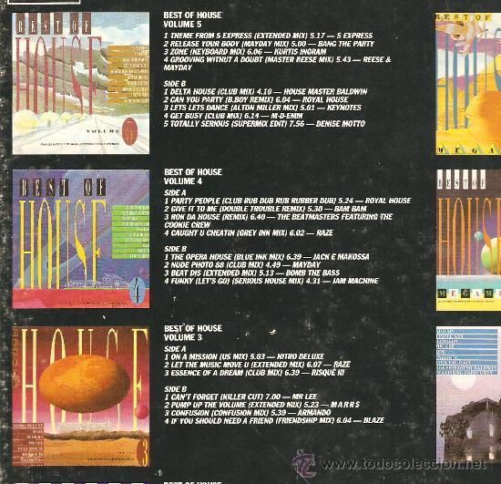 Discos de vinilo: HOUSE - TEN ALBUM BOX SET - CAJA CON 10 VINILOS - ELECTRONICA & DEEP HOUSE & ACID HOUSE & TECHNO - Foto 4 - 23699251