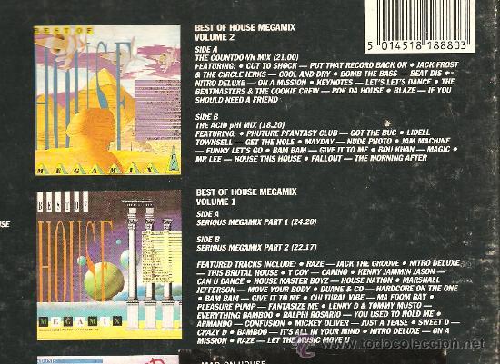 Discos de vinilo: HOUSE - TEN ALBUM BOX SET - CAJA CON 10 VINILOS - ELECTRONICA & DEEP HOUSE & ACID HOUSE & TECHNO - Foto 6 - 23699251
