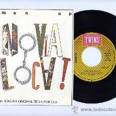 Discos de vinilo: SEMEN UP. EP 45 RPM. TU NOVIA ESTA LOCA + 2. TWINS AÑO 1987. Lote 26445395