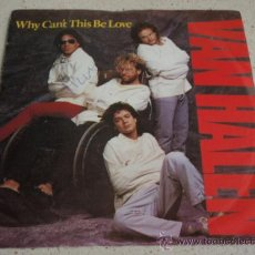 Discos de vinilo: VAN HALEN ?– WHY CAN'T THIS BE LOVE / GET UP GERMANY 1986 WARNER BROS RECORDS. Lote 13431191