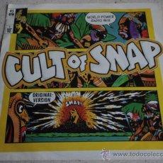Discos de vinilo: SNAP ( CULT OF SNAP - BLASÉ BLASÉ ) 1990-GERMANY SINGLE45 LOGIC RECORDS. Lote 13431459