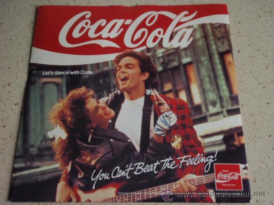 COCA-COLA (GET THE FEELING - TAKE A BREAK - SUMMER HEAT - SEXY MALE) 1988 EP (Música - Discos de Vinilo - EPs - Disco y Dance)