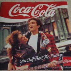 Discos de vinilo: COCA-COLA (GET THE FEELING - TAKE A BREAK - SUMMER HEAT - SEXY MALE) 1988 EP . Lote 13433737