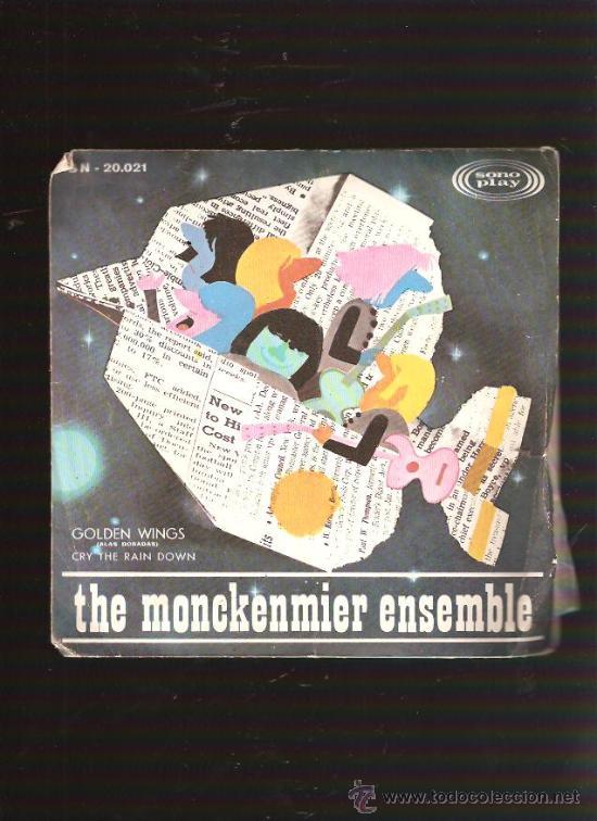 THE MONCKENMIER ENSEMBLE (Música - Discos - Singles Vinilo - Pop - Rock Extranjero de los 50 y 60)