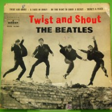 Discos de vinilo: SINGLE THE BEATLES - TWIST AND SHOUT. ODEON 1963. Lote 53964918