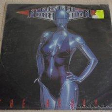 Discos de vinilo: THE HEAVY'S ( METAL MARATHON PART. I Y II 14 CANCIONES) 1989 SINGLE45 ARIOLA. Lote 13450246
