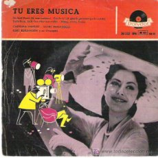 Discos de vinilo: CATERINA VALENTE - SILVIO FRANCESCO *** TU ERES MUSICA ** POLYDOR EP 50S. Lote 13452484
