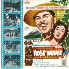 Discos de vinilo: ROSE MARIE - BSO *** EP 1960 HISPAVOX. Lote 14298611