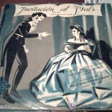 Discos de vinilo: INVITACION AL VALS/OP 65 CARL MARIA VON WEBER/LP 10 PULGADAS. Lote 26868727