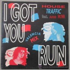 Discos de vinilo: HOUSE TRAFFIC - I GOT YOU - VALENCIA MIX - SINGLE PROMO . Lote 13463972