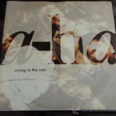 Discos de vinilo: A-HA ( CRYING IN THE RAIN - NONSTOP JULY ) USA-1990 SINGLE45 WARNER BROS RECORDS. Lote 13469913
