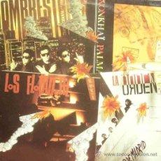 Discos de vinilo: LOS FLOTADORES + WONKHAI PALMA + HOMBRESTONES + LA ORDEN MAXI SINGLE VINILO 1990 PROMOCIONAL SPAIN. Lote 13510103