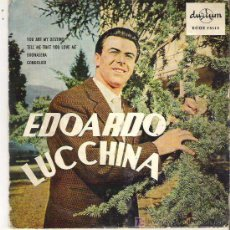 Discos de vinilo: EDOARDOL UCCHINA - YOU ARE MY DESTINY *** DURIUN 1959 DIFICIL. Lote 13515690