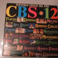Discos de vinilo: NUESTROS EXITOS DEL AÑO - CBS 1982 - LP RECOPILACION DE EXITOS. Lote 25984698