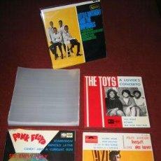 Discos de vinilo: PALPI RECORDS - 1 FUNDA PARA DISCOS SINGLES Y EP'S - LA MEJOR CALIDAD Y PRECIO DEL MERCADO!!. Lote 236905865