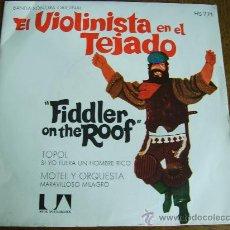 Discos de vinilo: EL VIOLINISTA EN EL TEJADO -BANDA SONORA ORIGINAL-AÑO 1971. Lote 24465631