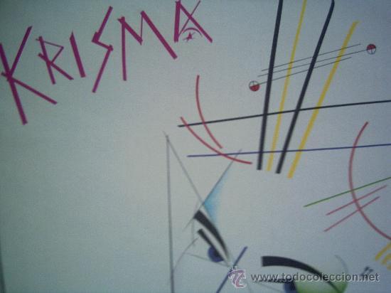 KRISMA,CLANDESTINE ANTICIPATION EDICION ESPAÑOLA DEL 82 (Música - Discos - LP Vinilo - Disco y Dance)