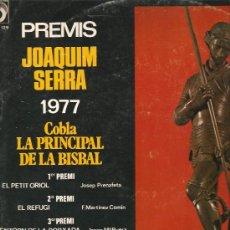 Discos de vinilo: LP SARDANES / SARDANAS : PREMIS JOAQUIM SERRA 1977 - COBLA LA PRINCIPAL DE LA BISBAL . Lote 13579756