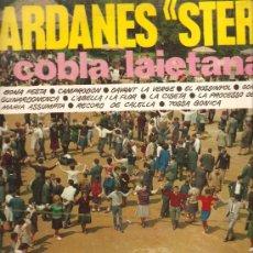 Discos de vinilo: LP SARDANES / SARDANAS : COBLA LAIETANA SARDANES STEREO. Lote 13579785