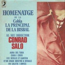 Discos de vinilo: LP SARDANES / SARDANAS : HOMENATGE A CONRAD SALO - COBLA LA PRINCIPAL DE LA BISBAL . Lote 13579824