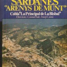 Discos de vinilo: LP SARDANES / SARDANAS : COBLA LA PRINCIPAL DE LA BISBAL - ARENYS DE MUNT . Lote 13579920