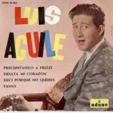 Discos de vinilo: LUIS AGUILE - PREGUNTASELO A FRIZZI - EP 1964. Lote 27442483