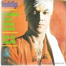 Discos de vinilo: KULDIP - LA BALADA DE LOS BOINAS VERDES / OJOS DE ESPAÑA *** HISPAVOX 1966. Lote 13600985