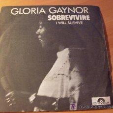 Discos de vinilo: GLORIA GAYNOR ( I WILL SURVIVE / SOBREVIVIRE) ) 45 RPM 1979 ESPAÑA ( VG+ / EX ). Lote 13653192