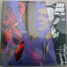 Discos de vinilo: DAVID BOWIE - SOUND & VISION CAJA 6 LP'S CLEAR VINIL - MUY RARO. Lote 26246303
