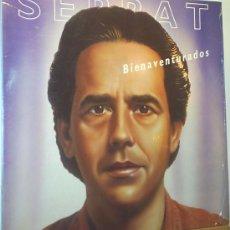 Discos de vinilo: SERRAT BIENAVENTURADOS LP 1987. Lote 13643106