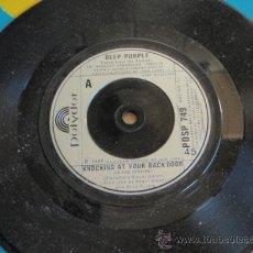 Discos de vinilo: DEEP PURPLE ( KNOCKING AT YOUR BACK DOOR - PERFECT STRANGERS ) ENGLAND-1985 SINGLE45 POLYDOR. Lote 13654609