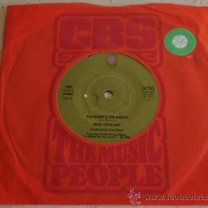 Discos de vinilo: ROD STEWART ( TONIGHT'S THE NIGHT - THE BALLTRAP ) 1976 - SWEDEN SINGLE45 WARNER BROS RECORDS. Lote 13666013