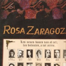 Discos de vinilo: LP ROSA ZARAGOZA - LES NENES BONES VAN AL CEL; LES DOLENTES A TOT ARREU. Lote 18732900