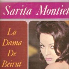 Discos de vinilo: LP SARA MONTIEL - LA DAMA DE BEIRUT. Lote 18877274