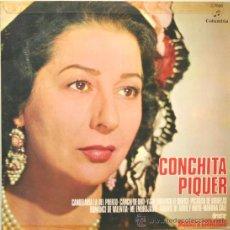 Discos de vinilo: CONCHITA PIQUER LP COLUMBIA 1970. Lote 13756874
