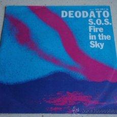 Discos de vinilo: DEODATO ( S.O.S. FIRE IN TH SKY - EAST SIDE STRUT ) USA - 1980 SINGLE45 WARNER BROS RECORDS. Lote 13759613