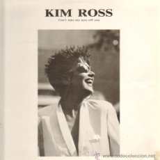 Discos de vinilo: KIM ROSS - CAN'T TAKE MY EYES OFF YOU - MAXISINGLE 1987. Lote 23753754