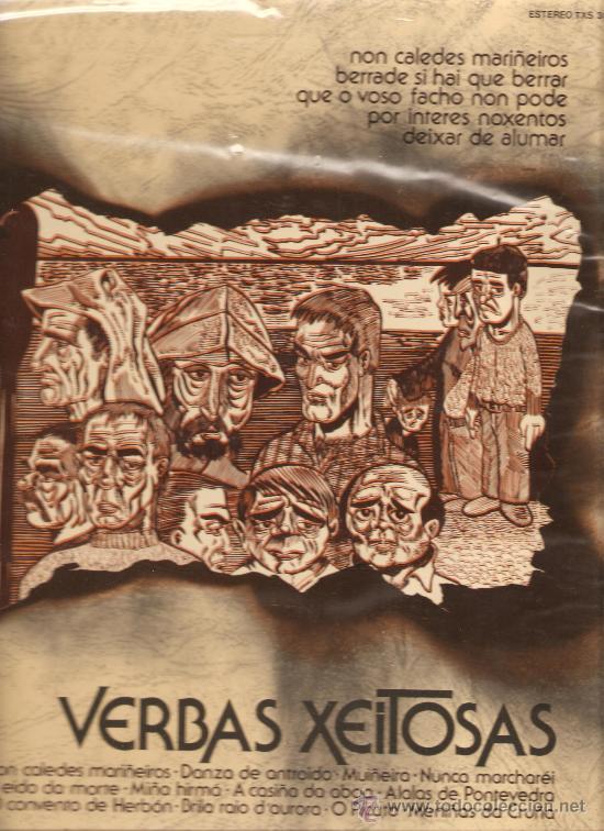 LP GALICIA - VERBAS XEITOSAS (Música - Discos - LP Vinilo - Étnicas y Músicas del Mundo)