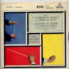 Discos de vinilo: ORQUESTA SINFONICA DE LONDRES - GEORG SOLTI / TEMAS (VER FOTO) EP DECCA 1960. Lote 13773053