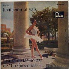 Discos de vinilo: ORQUESTA SINFONICA DE VIENA / TEMAS (VER FOTO) EP FONTANA 1962. Lote 13773261