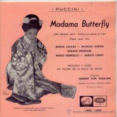 Discos de vinilo: ORQUESTA Y CORO DEL TEATRO DE LA SCALA DE MILAN / TEMAS (VER FOTO) EP EMI 1961. Lote 13773316