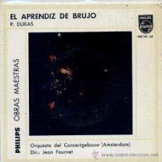 Discos de vinilo: ORQUESTA DEL CONCERTGEBOUW (AMSTEERDAM) / TEMAS (VER FOTO) EP PHILIPS 1962. Lote 13773387