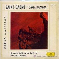 Discos de vinilo: ORQUESTA SINFONICA DE BAMBERG - FRITS LEHMANN / TEMAS (VER FOTO) EP DEUTSCHE1960. Lote 13773410