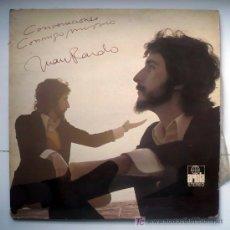 Discos de vinilo: JUAN PARDO -CONVERSACIONES CONMIGO MISMO. LP. Lote 20013377