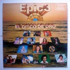 Discos de vinilo: EPIC3- DISCO DE ORO. Lote 19478887