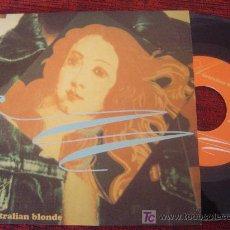 Discos de vinilo: AUSTRALIAN BLONDE - SORRY. Lote 25325065
