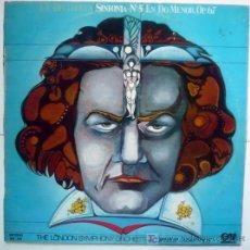 Discos de vinilo: LUDWIG VAN BEETHOVEN- 5º SINFONIA EN DO MENOR. Lote 19478890